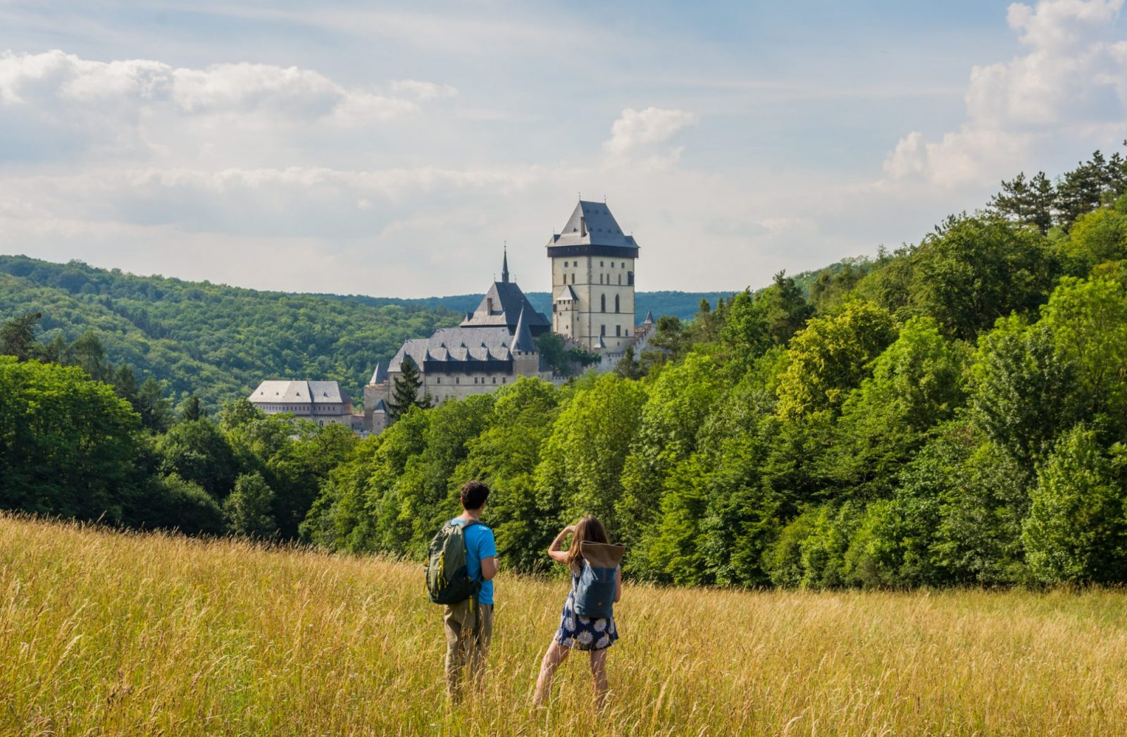 Karlstejn Castle near prague