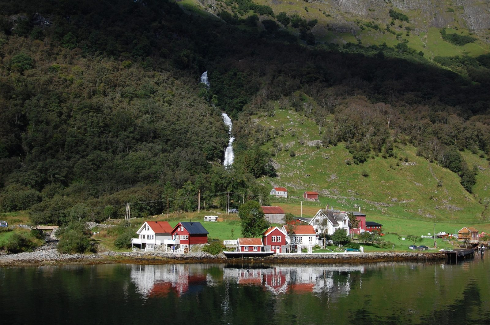 Flåm railway tour in Norway