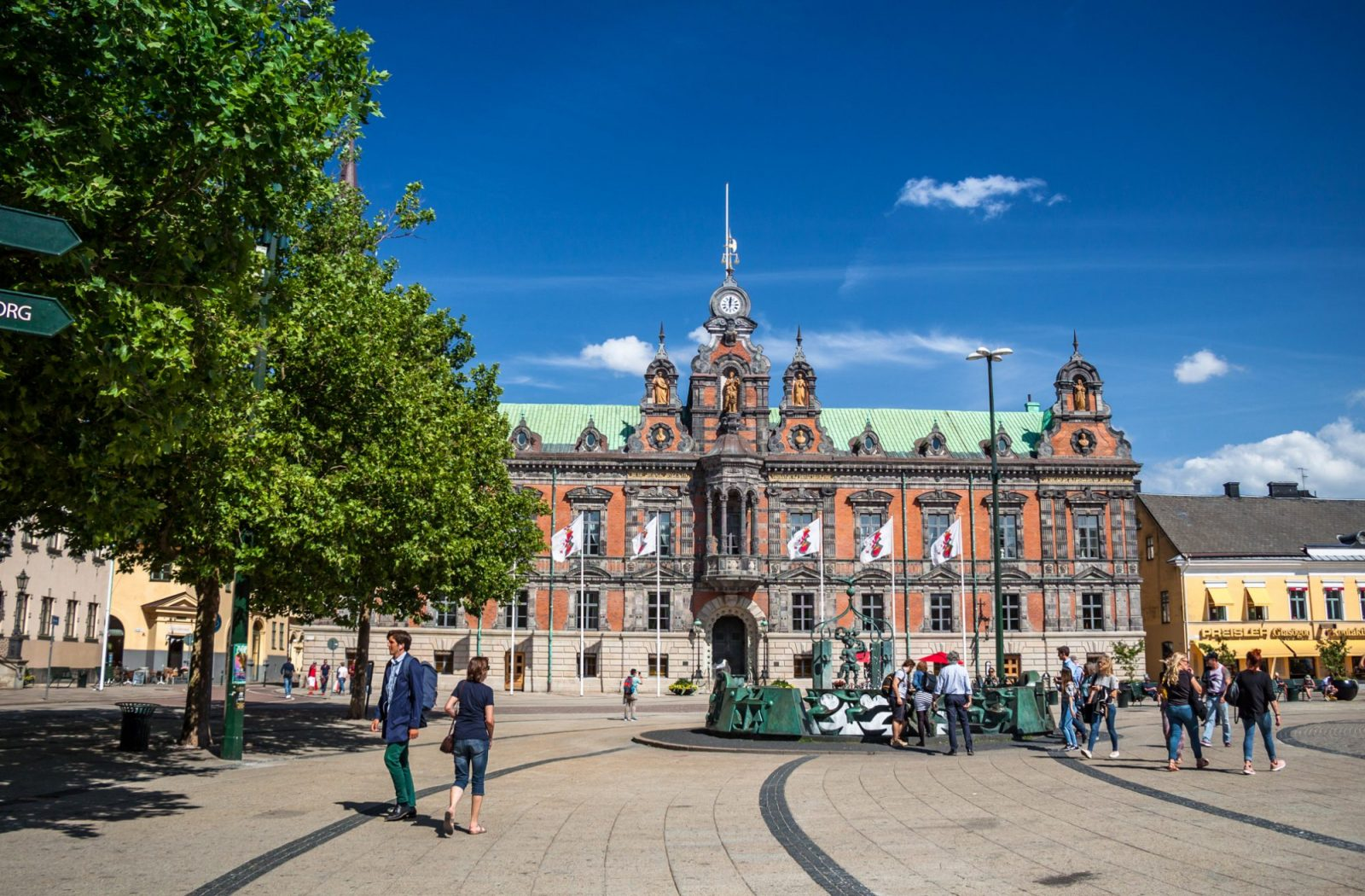 Things to do in malmo exploring sensational sweden just a pack stortorget market square in malmo sweden publicscrutiny Choice Image
