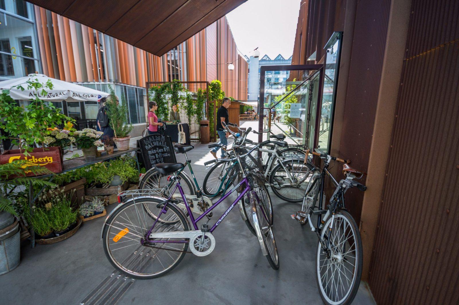 Biking in Malmo