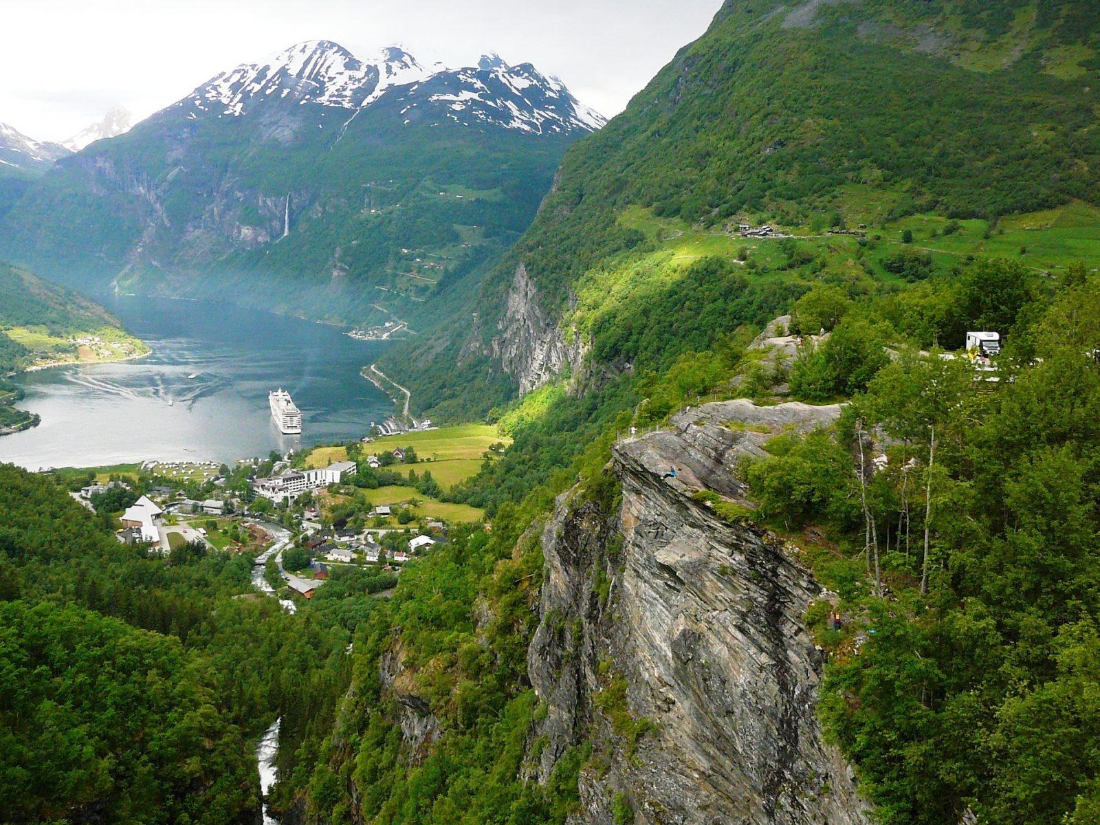 Norway's best fjords Geirangerfjord
