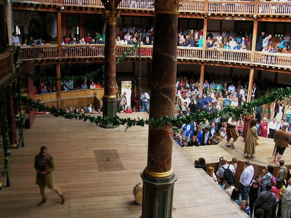 things to do in London - visit the Globe theater