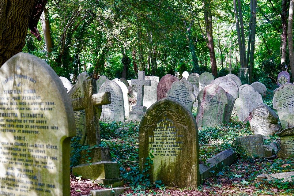 cheap or free things to do in London - Visit Highgate Cemetary