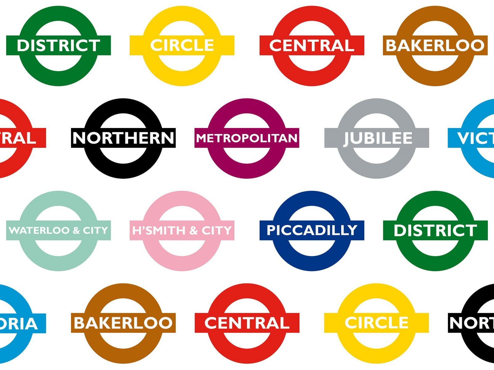 the london underground stations