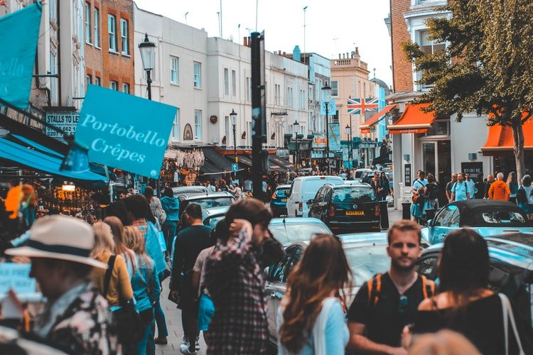free things to do in London - visit the markets