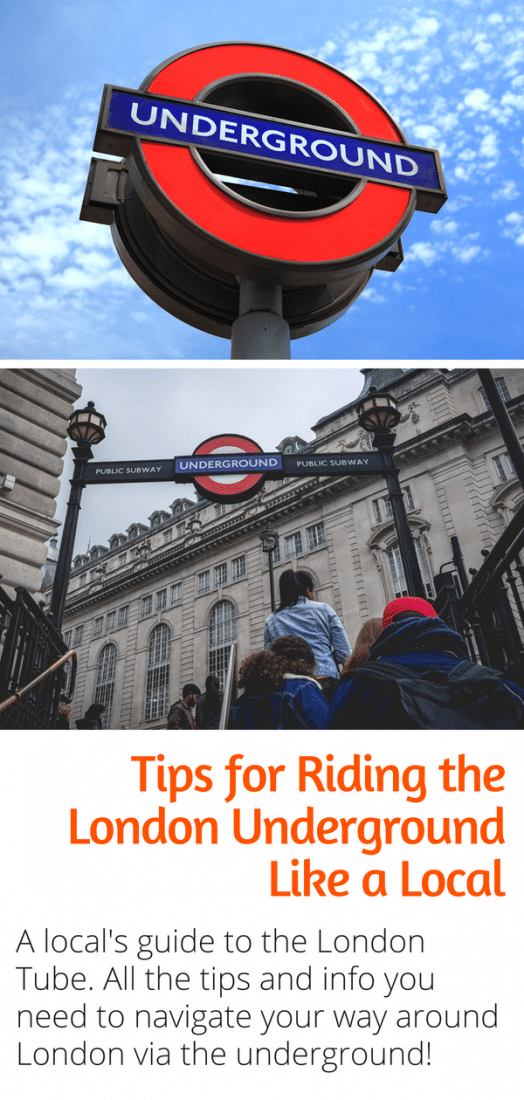 A Local's Guide to the London Underground - Everything you need to know to ride the London Tube like a local. Including the London Tube map explained, and tips on how to buy an Oyster card and navigate your way around the London underground. #london #tube #londonunderground #UK #europe #travel