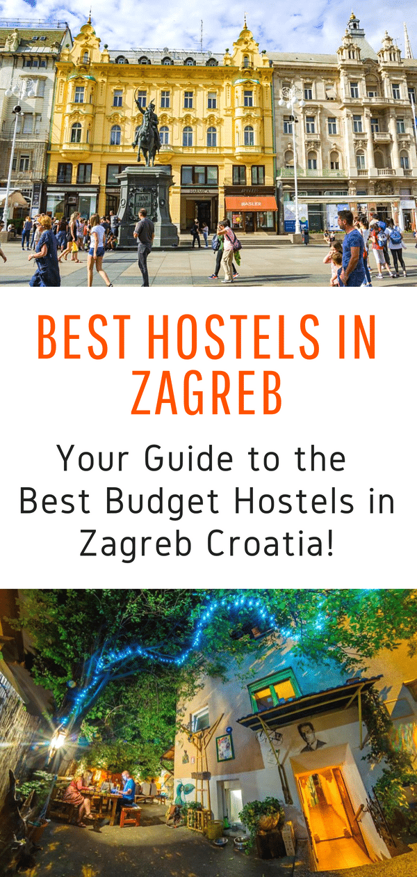 Best Hostels in Zagreb Croatia - Looking for an awesome place to stay in Zagreb? Traveling to Croatia on a budget? Here is your guide to the best hostels in Zagreb Croatia! #europe #croatia #zagreb #hostels #budgettravel #travel