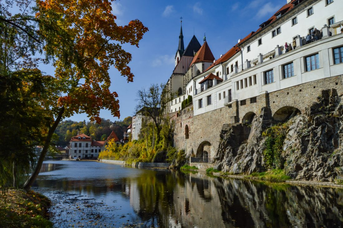 visiting cesky krumlov on a day trip from prague