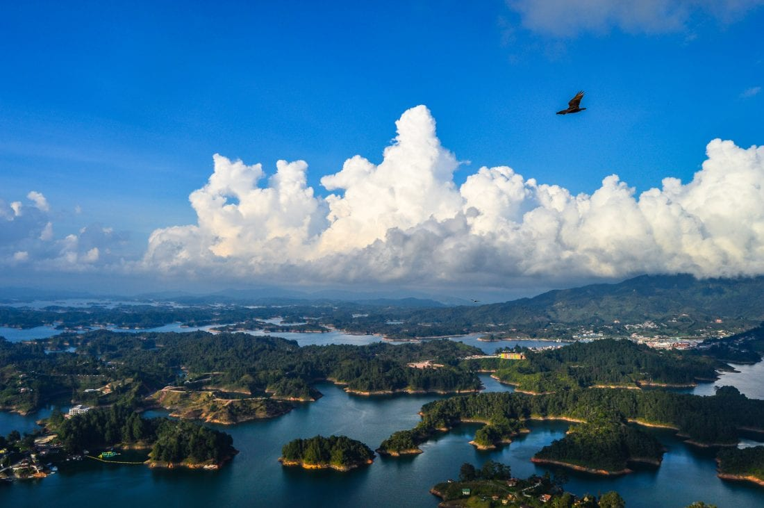 the view from La Piedra, things to do in guatape