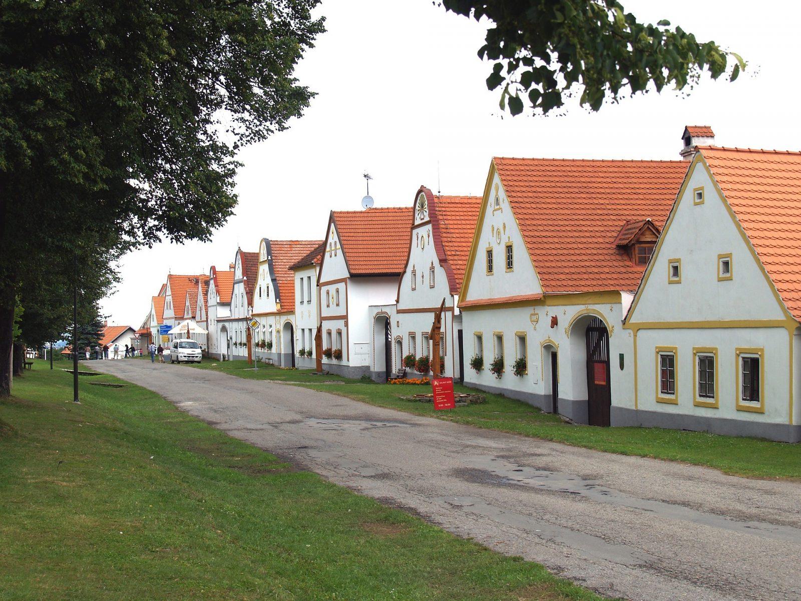 Holasovice Czech Republic