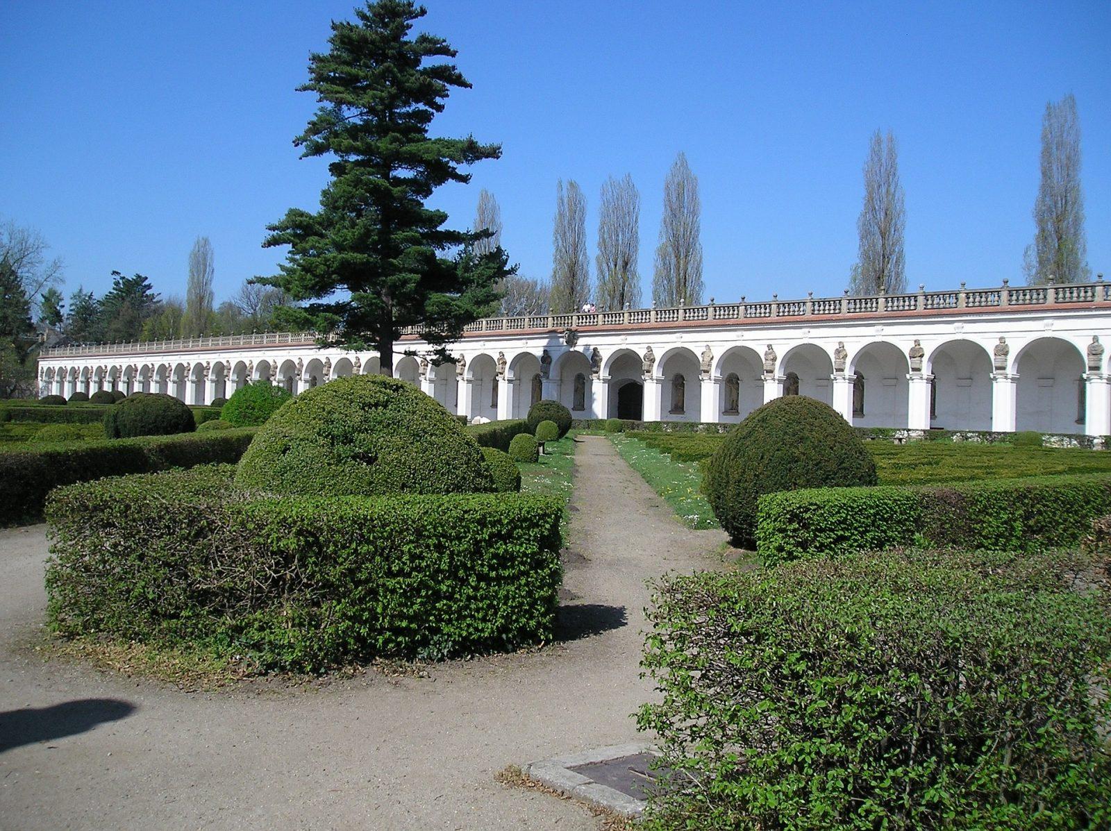 Kroměříž Gardens in the Czech Republic