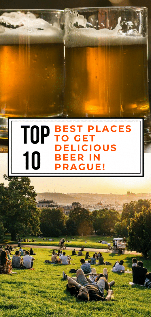 Things to Do in Prague - The top 10 best places to get beer in Prague Czech Republic. Click to discover the best pubs, beer gardens, craft breweries, and more in Prague! #prague #czechrepublic #europe #beer #travel #craftbeer