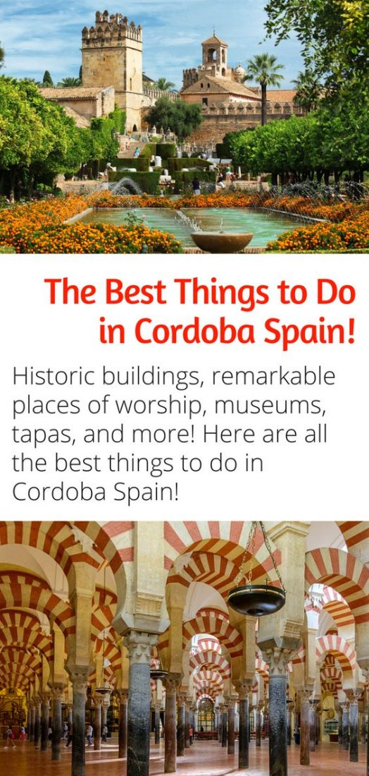 Exploring Andalucia - The Best Things to Do in Cordoba Spain! Don't miss out on all the amazing sites in Cordoba, discover everything there is to see in do in this amazing city with this guide. #andalucia #spain #cordoba #europe #travel