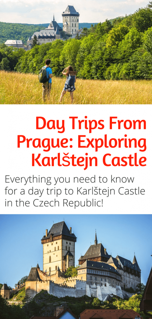 Day Trips From Prague - Everything you need to know to visit Karlstejn Castle near Prague in the Czech Republic. How to get there, what to see and do, and more! #czechrepublic #prague #karlstejn #castles #europe #travel