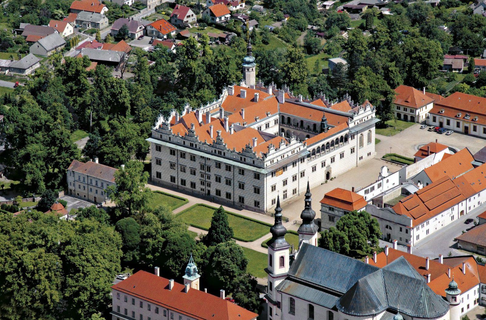 UNESCO Litomysl Chateau in the Czech Republic