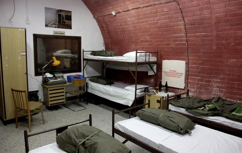 10-Z Bunker Hostel in Brno