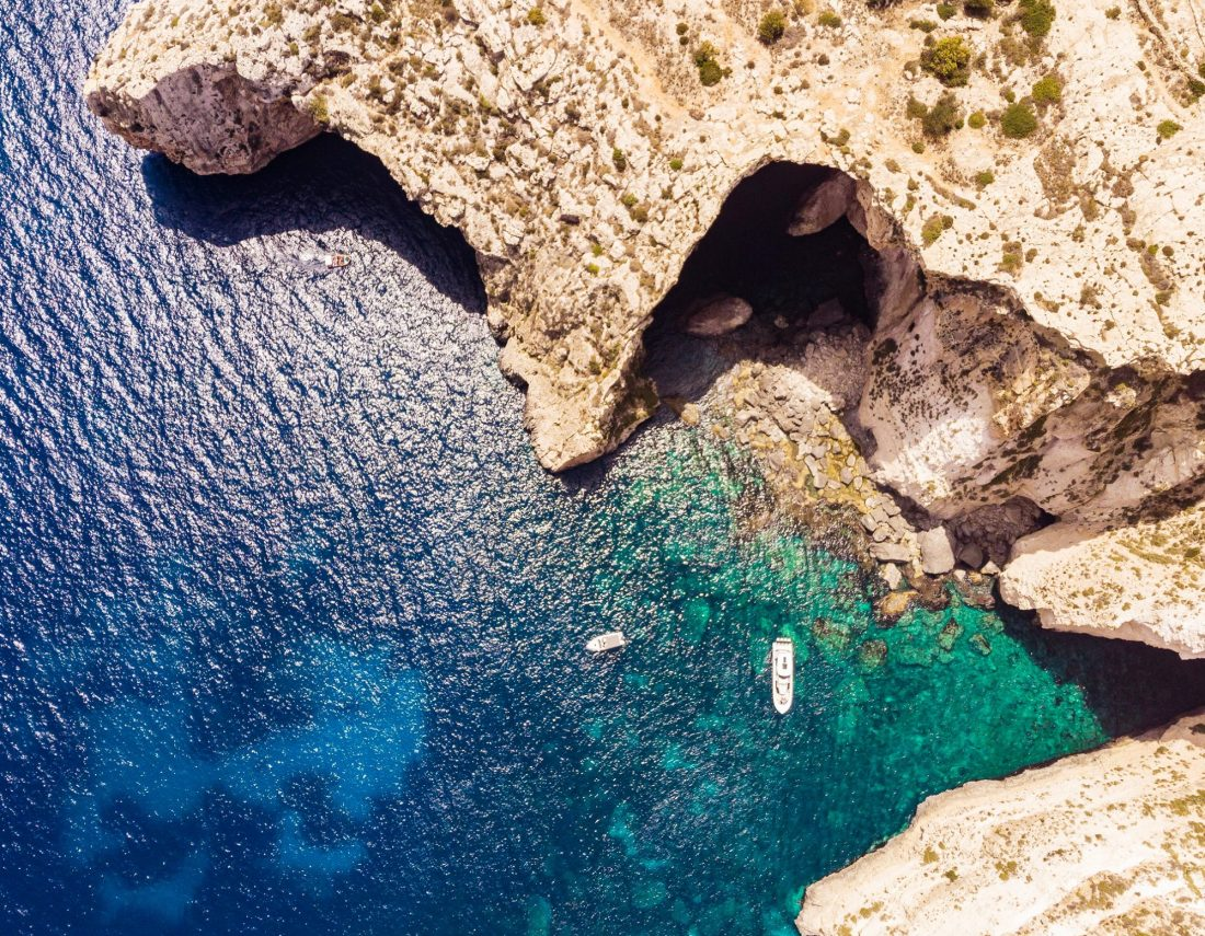 Things to do in Malta - explore the Blue Grotto in Malta
