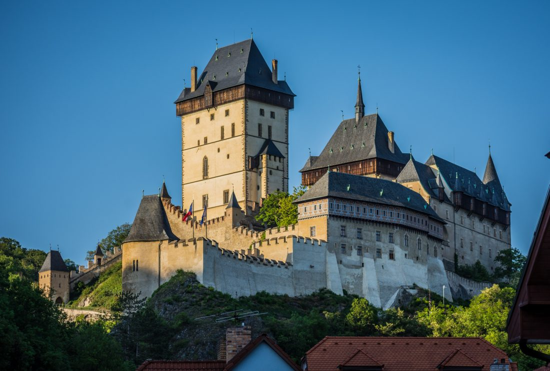 coolest castles in the czech republic - karlstejn castle