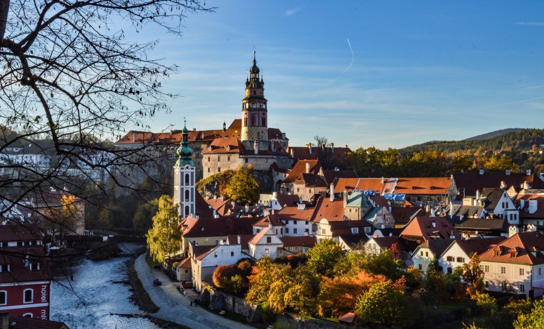 coolest castles in the Czech Republic - Cesky Krumlov Castle