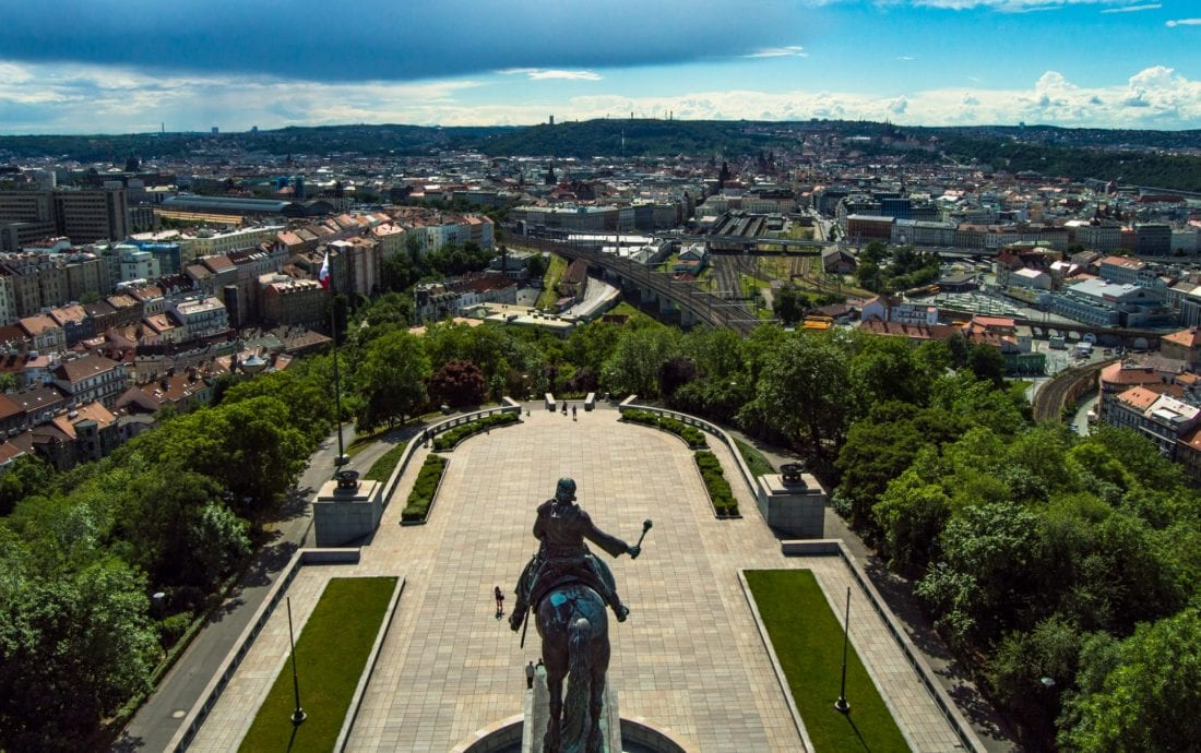 Getting Off the Beaten Path in Prague - Exploring Zizkov -Vitkov monument