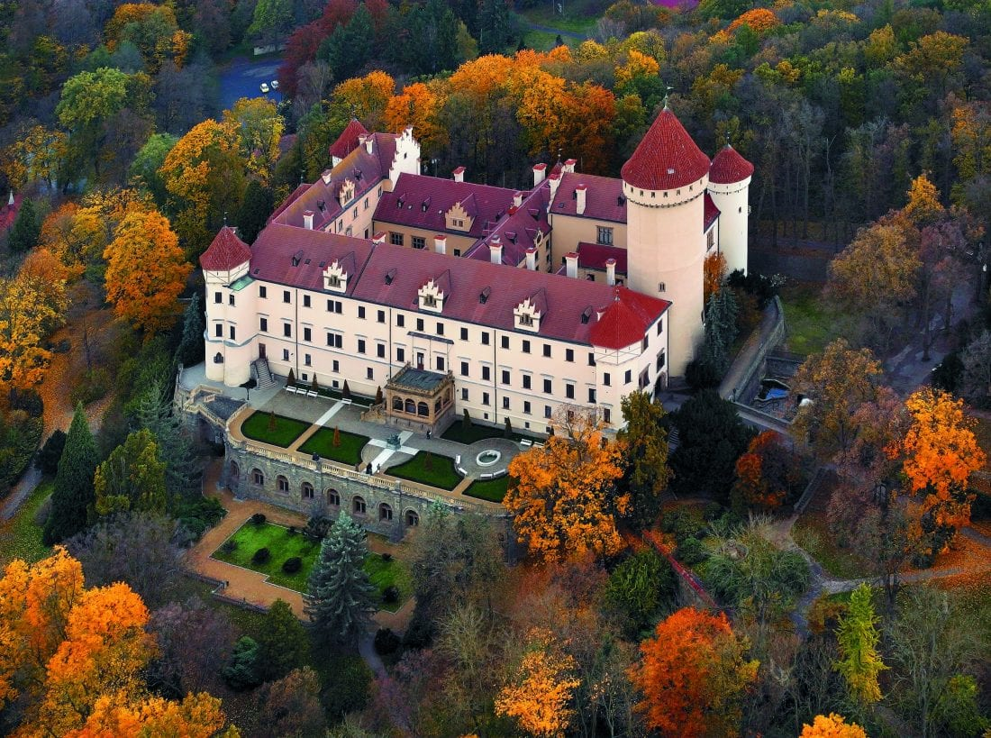 Coolest Castles in the Czech Republic - Konopiste Castle