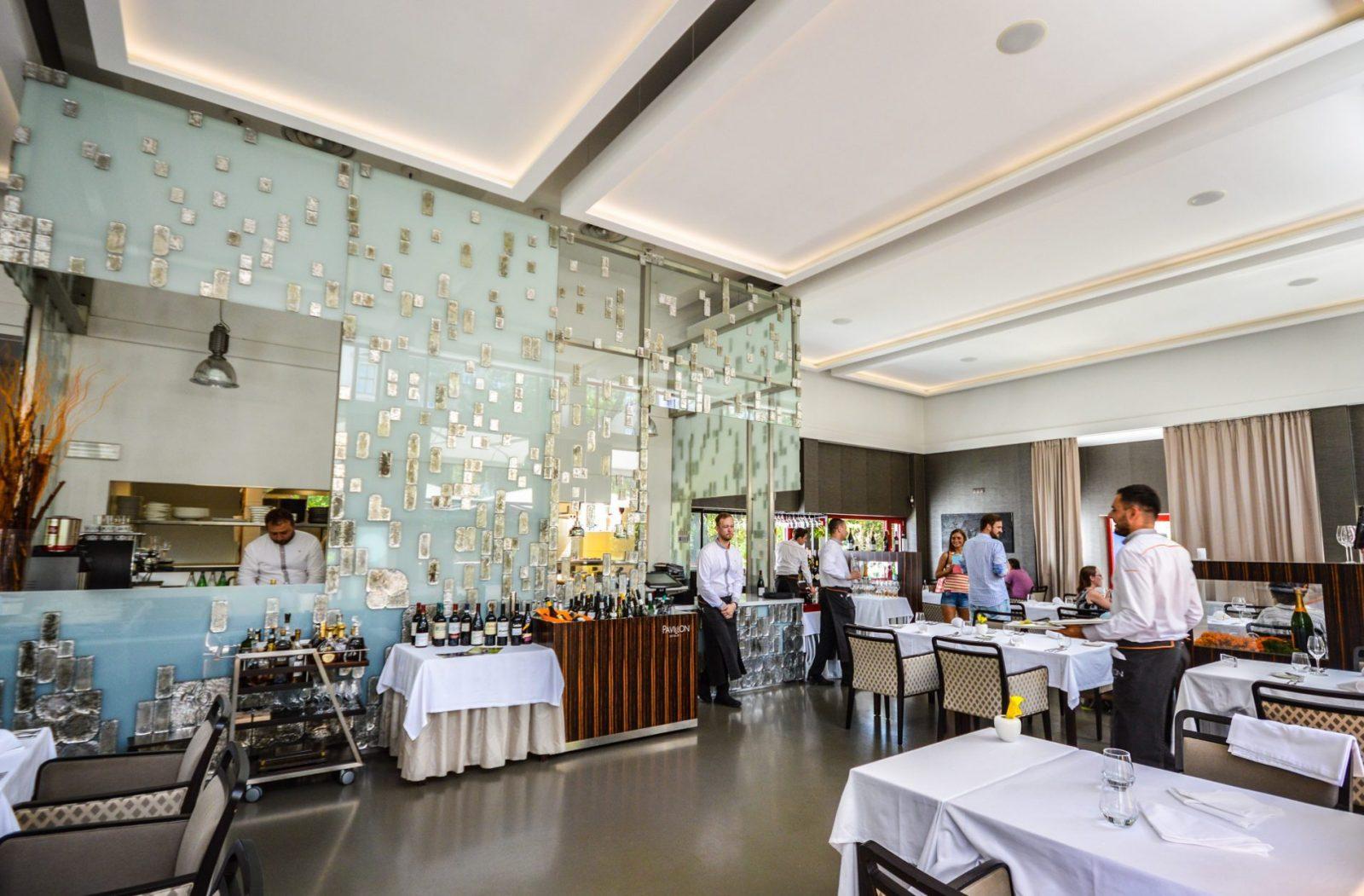 Pavillon Restaurant in Brno Czech Republic