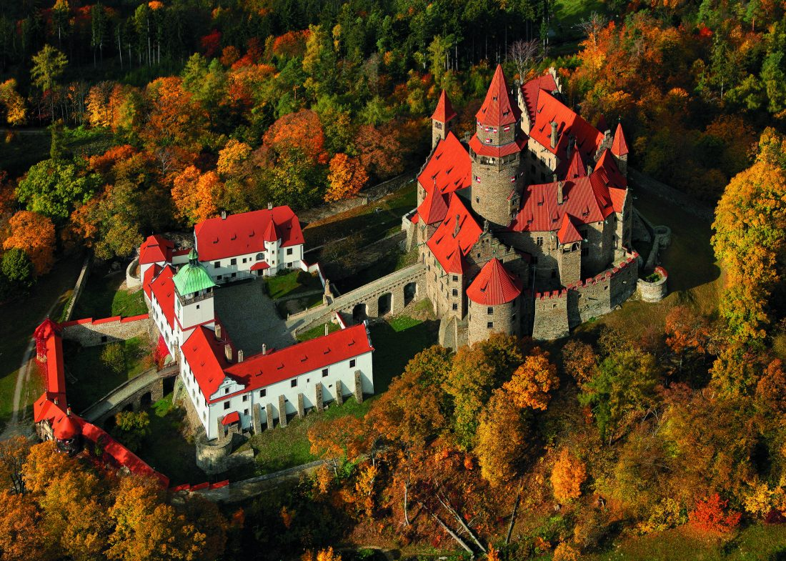 Coolest castles in the Czech Republic - Bouzov Castle