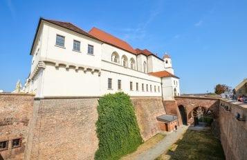 Spilberk Castle in Brno