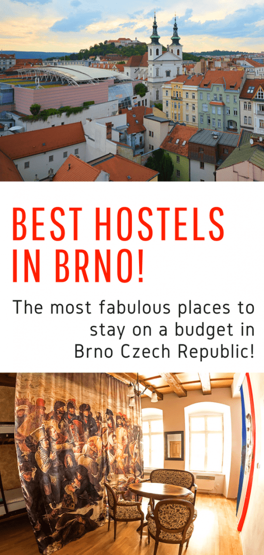 Best Hostels in Brno - Looking for budget accommodations in Brno? Here are the most fabulous hostels in Brno Czech Republic! #brno #czechrepublic #hostels #budgettravel #europe #travel #traveleurope