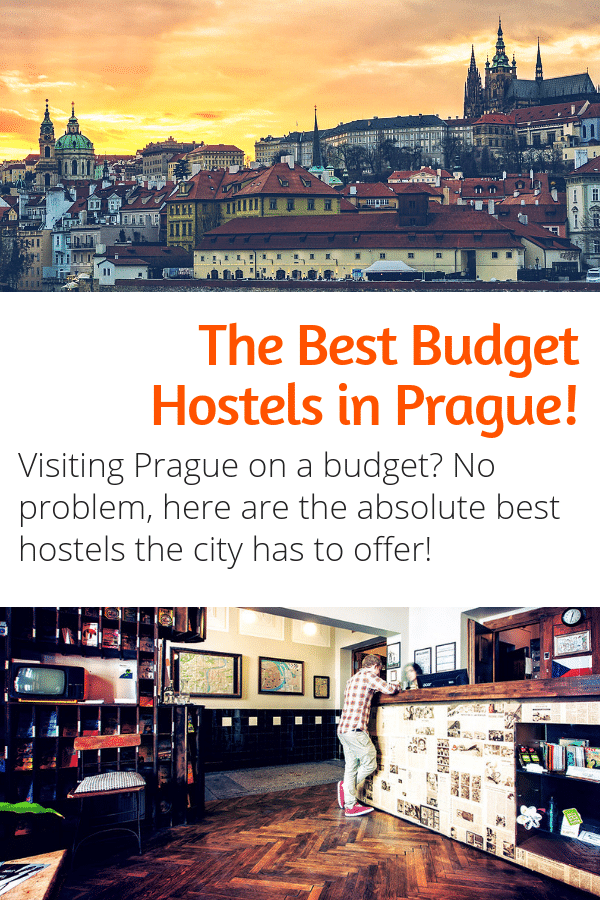 The Best Hostels in Prague! Visiting Prague Czech Republic on a budget? Want to spend your money on all the best things to do in Prague instead of accommodations? Here is your guide to the best budget hostels in Prague! #prague #czechrepublic #hostels #europe #budgettravel #travel