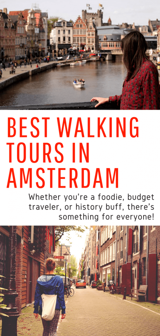 Best Walking Tours in Amsterdam - Looking for things to do in Amsterdam? What better way to get to know the city than a walking tour? Foodies, budget travelers, and history buffs will be pleasantly surprised by these awesome options. #amsterdam #europe #netherlands #walkingtours #travel