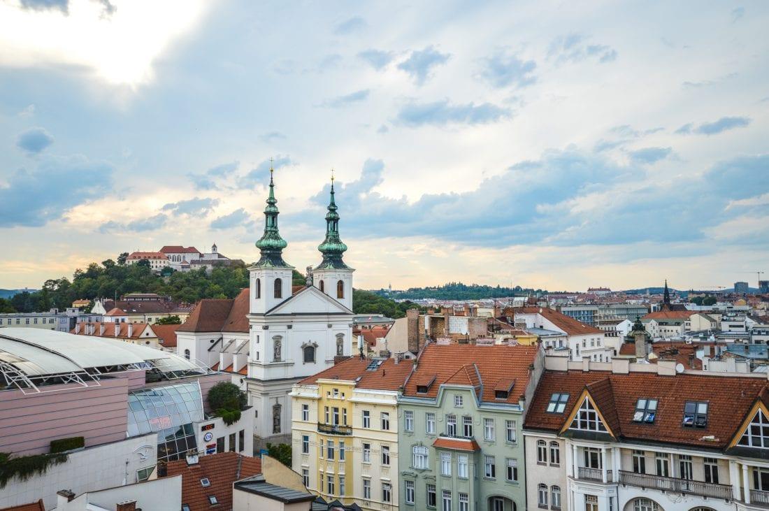 Brno Skyline - Best Hostels in Brno Czech Republic