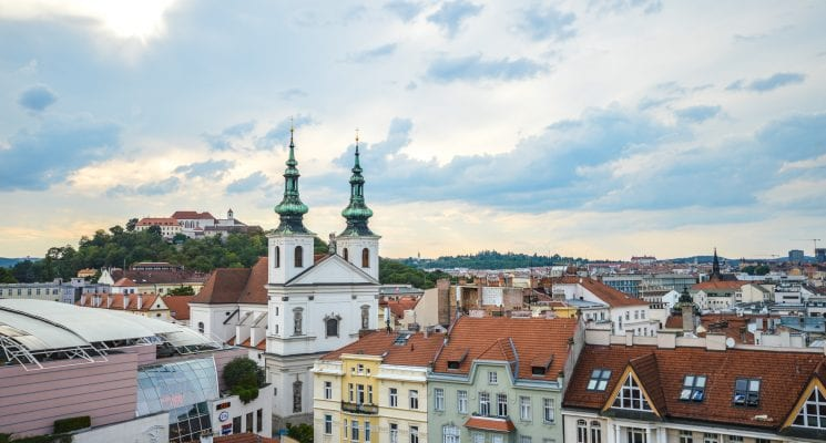 Brno Skyline - Best Hostels in Brno Czech Republic