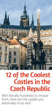 Guide to the Best Castles in the Czech Republic - With literally hundreds of castles in the Czech Republic how do you choose which ones to see? With this guide of course. Here are the best Czech castles you can't miss seeing! #czechrepublic #europe #castles #prague #ceskykrumlov #chateaus #travel