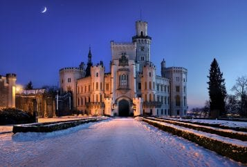 Coolest Castles in the world - Hloboka Castle - Czech Republic