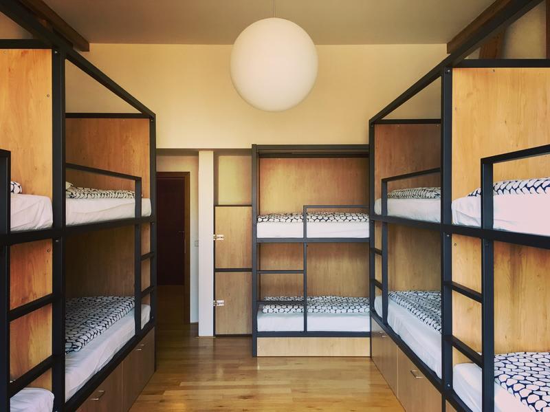 the best hostels in Prague - hostel Miru