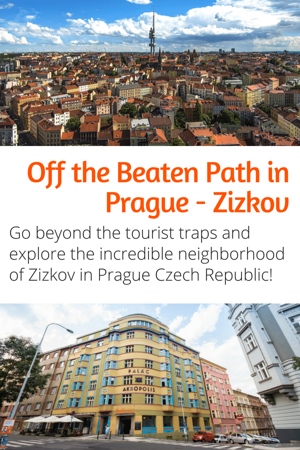 Things to Do in Prague - Explore Zizkov! Visiting Prague? Need some travel inspiration? If you want to go beyond the tourist traps and experience a local side of Prague this guide to the amazing Zizkov neighborhood in Prague is for you! #travel #prague #czechrepublic #europe