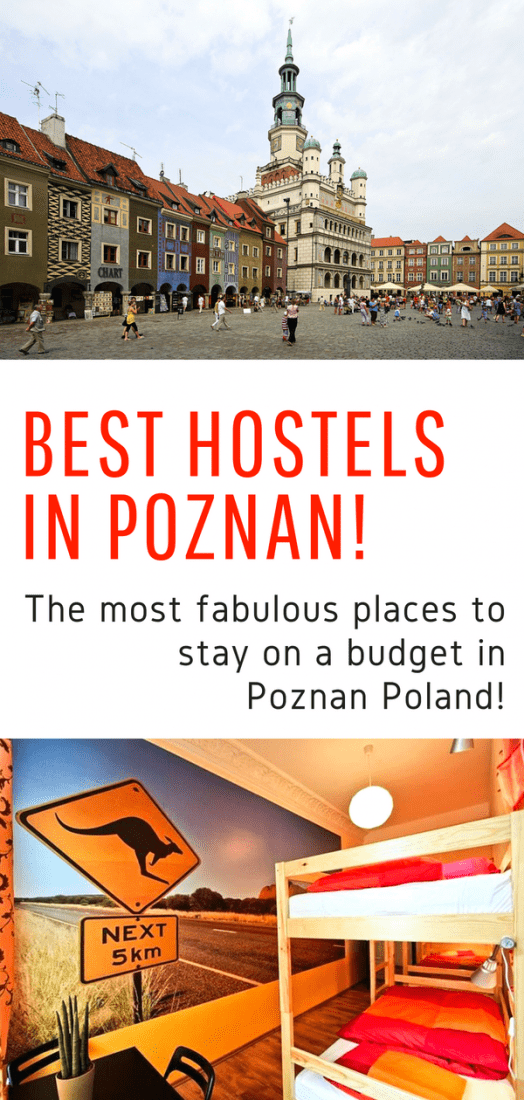 Best Hostels in Poznan - Looking for budget accommodations in Poznan Poland? Here is our list of the absolute best hostels in Poznan! #poznan #poland #europe #travel #budgettravel
