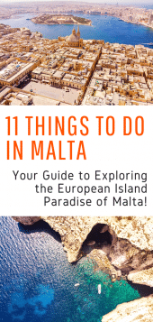 Things to Do in Malta - Your guide to exploring the island of Malta and getting the most out of your visit! Including Malta beaches, where to stay in Malta, and all the best sites in Malta! #malta #europe #beaches #travel