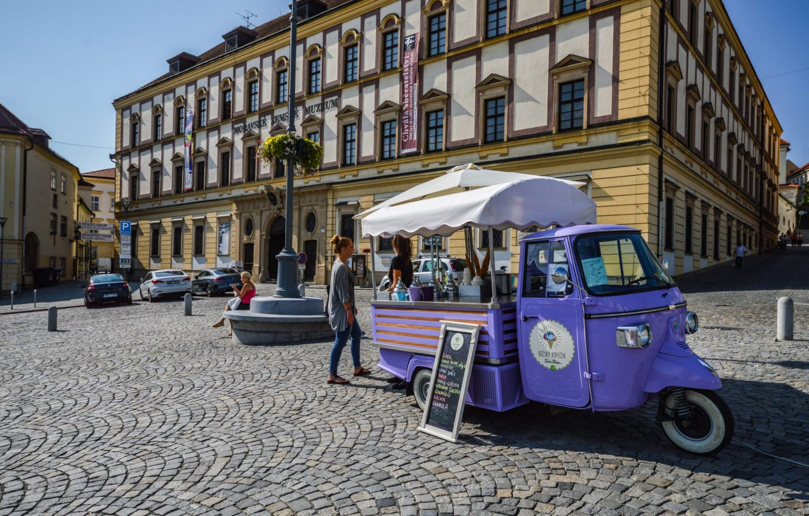Vegan Ice Cream Trucks in Brno