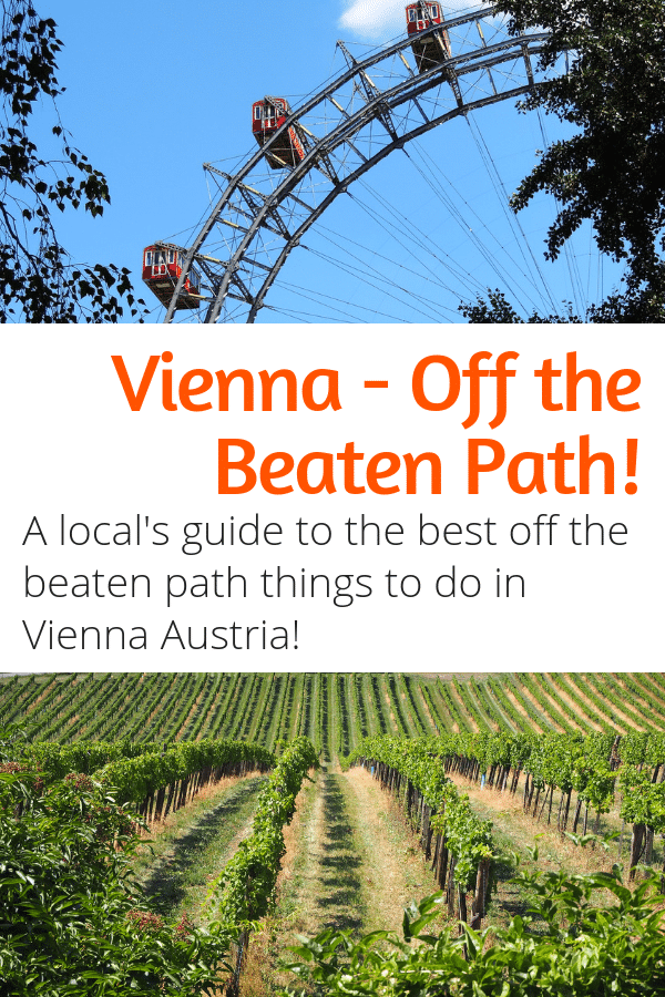 Off the Beaten Path Vienna - Looking for some unusual things to do in Vienna? This local's guide to off the beaten path things to do in Vienna is for you! #vienna #austria #travel #europe #destinations