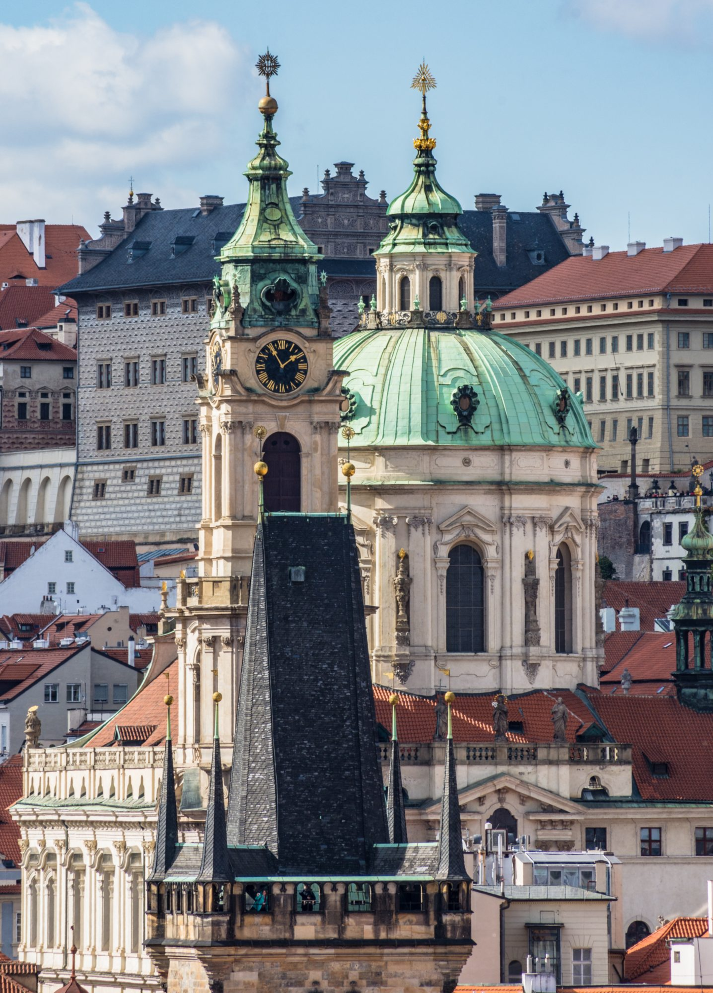 Rooftops and Spires of Prague