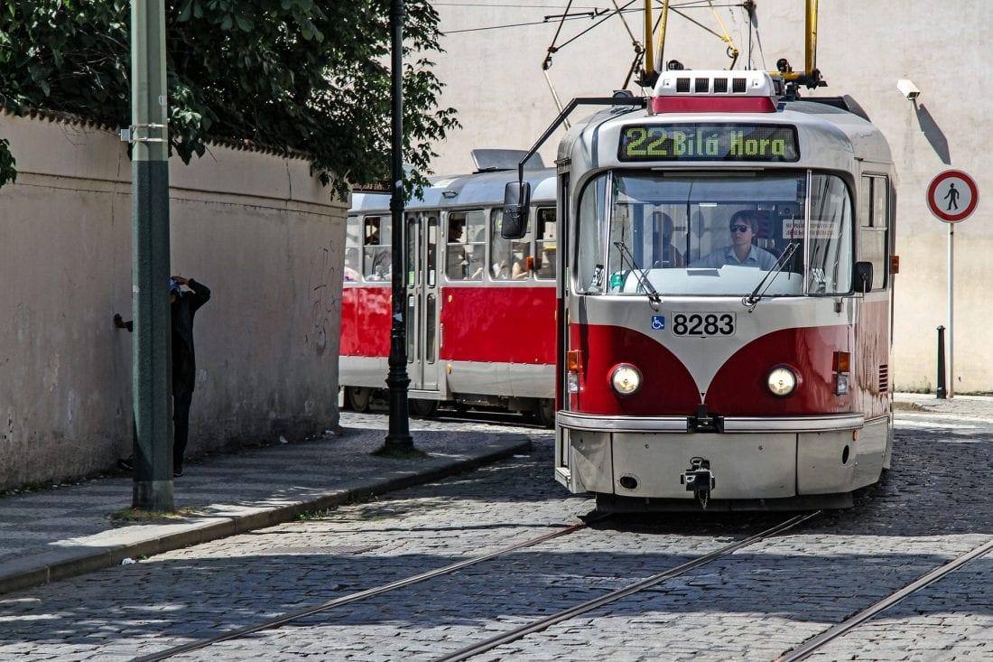 The Prague Tram