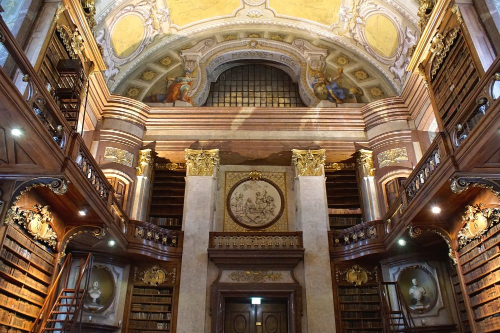 State Hall Austrian National Library in Vienna