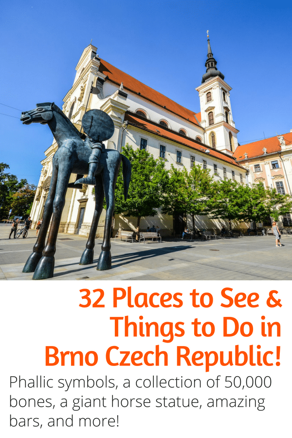 32 Awesome Things to Do in Brno - Visiting the Czech Republic and looking for the best things to do and see in Brno? This guide is for you! Here are all the best sites, bars, cafes, and restaurants in Brno! #brno #czechrepublic #travel #europe
