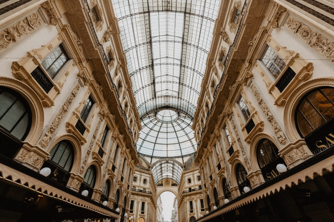 things to do in milan - shopping in milan