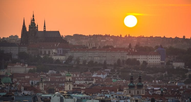 when to visit prague and the czech republic - summer in prague