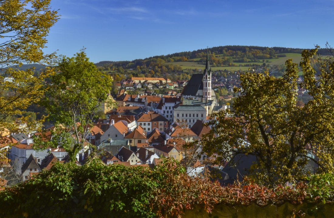 when to visit prague and the czech republic - cesky krumlov in the fall