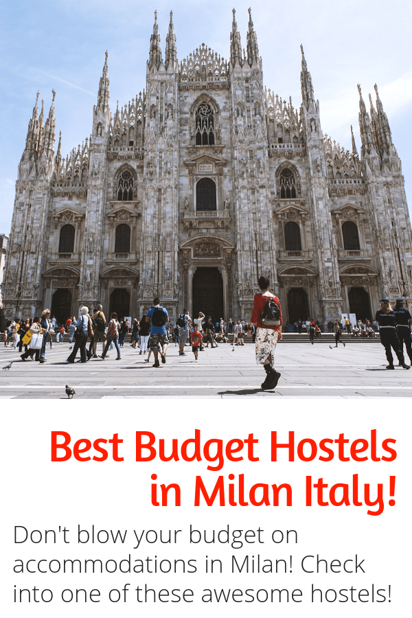 Best Hostels in Milan - Italy Travel - Traveling on a budget to Milan Italy? Look no further, this budget guide to the best hostels in Milan is for you! #hostels #milan #italy #europe #travelinspiration #budgettravel #besthostels