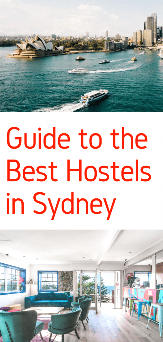 Best Hostels in Sydney Australia - A budget travel guide to the absolute best hostels in Sydney Australia. Click here to save on accommodations now! #australia #hostels #sydney #travel #budgettravel